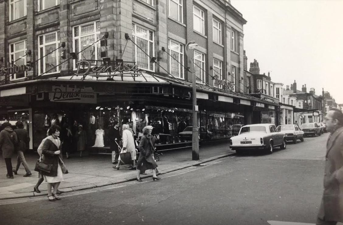 Lord Street in Southport in 1983